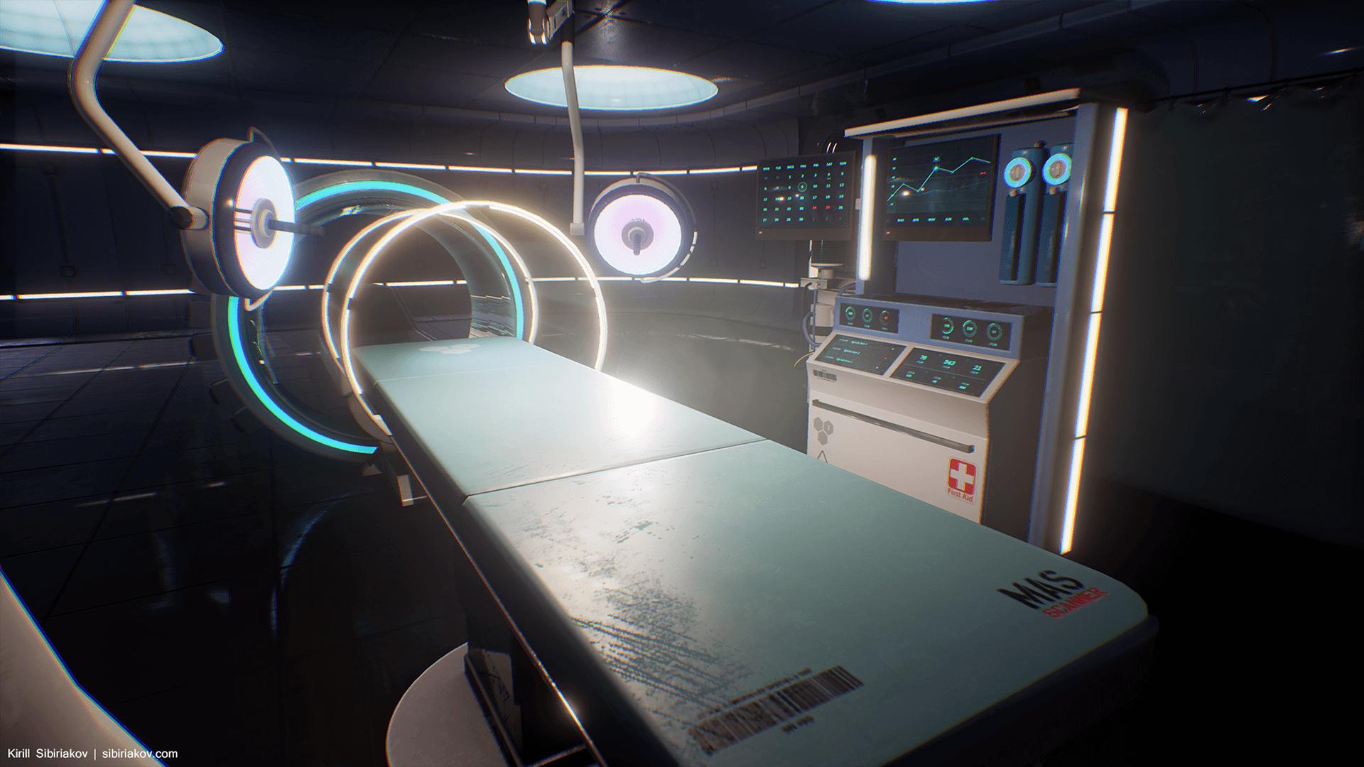 Sci Fi Hospital Room : Modular sci fi hospital by kirill sibiriakov in
