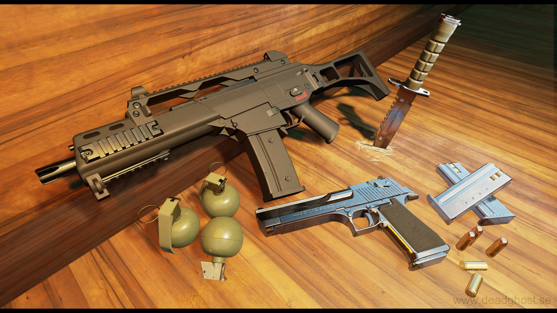 FPS Weapon Pack by Deadghost Interactive in Weapons - UE4 Marketplace