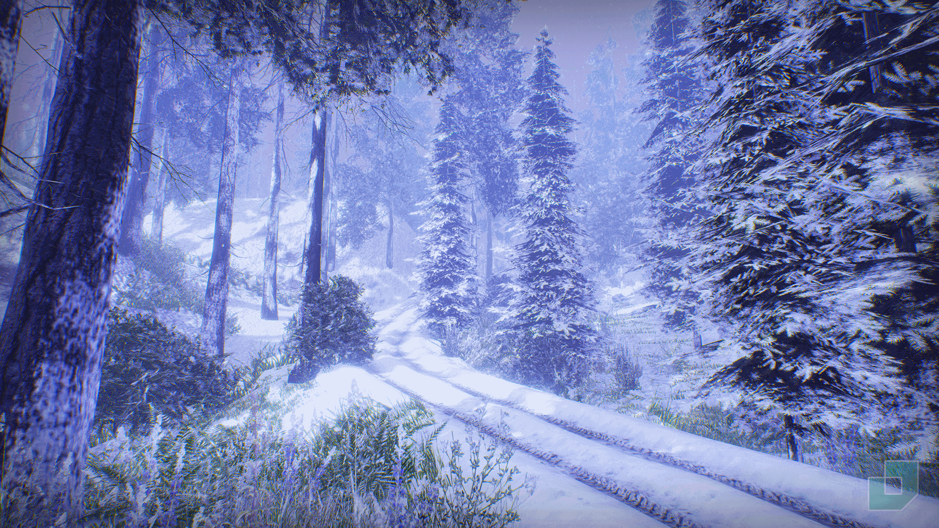 Low Poly Snow Forest by Dokyo in Environments - UE4 ...