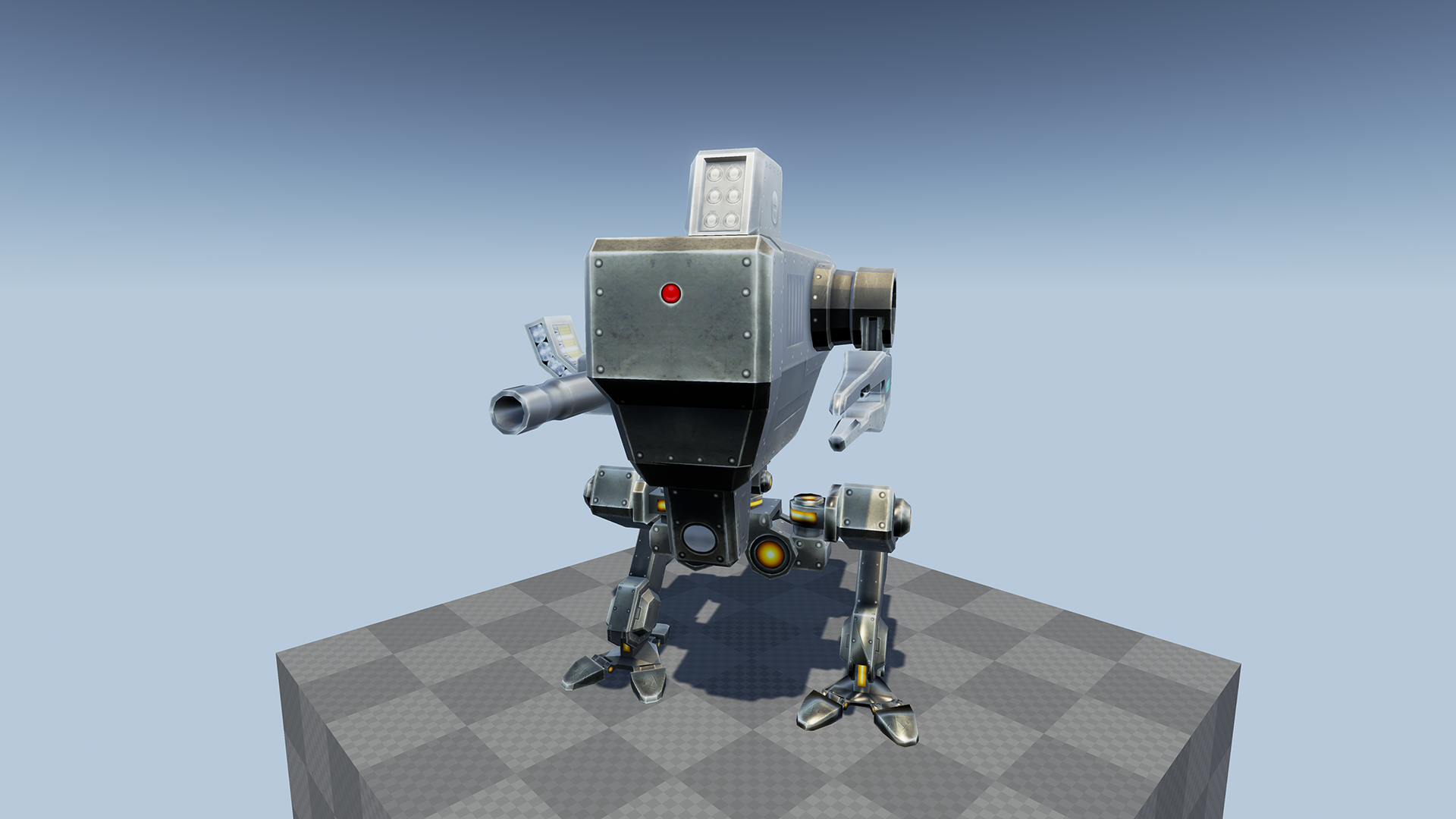 Sci Fi Robots Pack by PROTOFACTOR INC in Characters - UE4