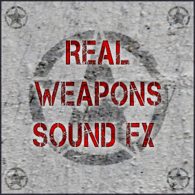 276 sound fx files included. Revolver, Pistol, Pistol with silencer, M4 assault rifle, M4 assault rifle with silencer, Sniper rifle, AK47, and Missile launcher firing and missile flyby sounds.