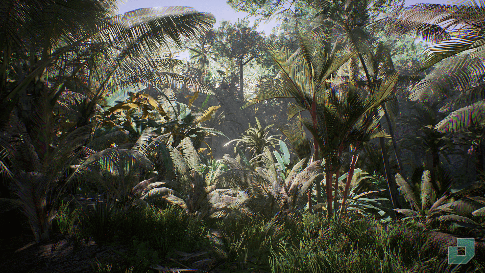 tropical jungle by dokyo in environments ue4 marketplace. Black Bedroom Furniture Sets. Home Design Ideas