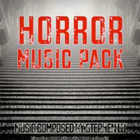 The Horror Music Pack is a collection of 6 cues perfect for any horror game.