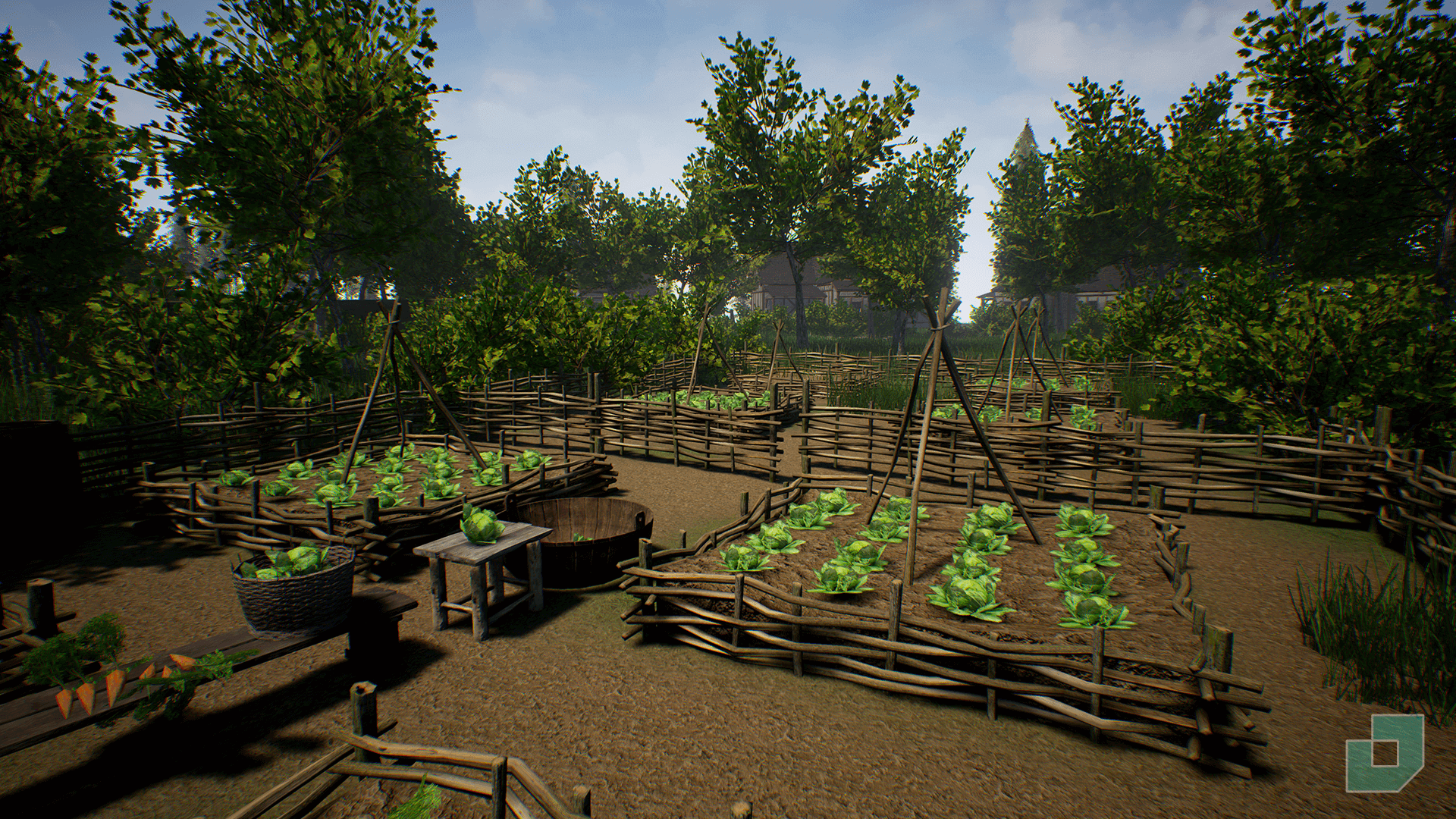 Medieval Town by Dokyo in Environments - UE4 Marketplace