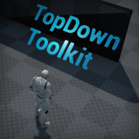 Toolkit for creating TopDown games including a camera, enemy behavior tree and basic skills
