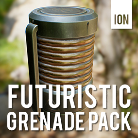 A small asset pack containing futuristic grenade models which you can add to your current game that you are working on. Or inspires you to built something that matches perfectly to our pack.