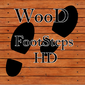 Most packs contain lots of footsteps most of which you never need. Are you looking for footsteps on Wooden Flooring? This pack gives you just that, Wood Footsteps.