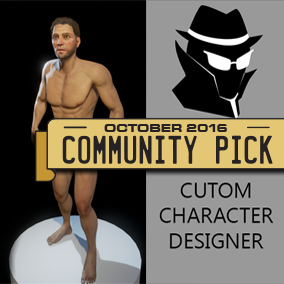 Customize facial features, body shape, hairstyles, and more with this extensive, high-quality character designer. Comes animation compatible and with a fully functioning user interface.