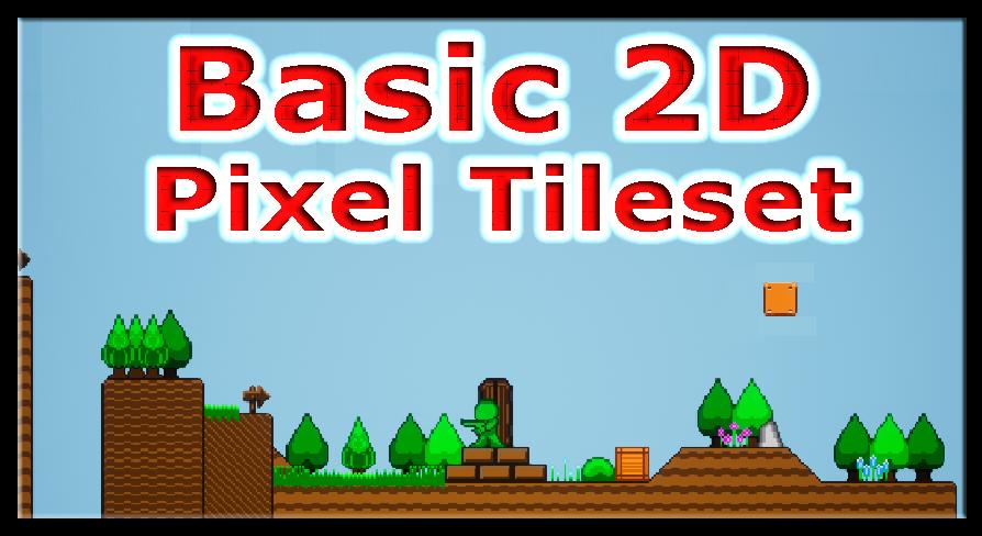 Basic 2D Pixel Tileset by Zliryu in 2D Assets - UE4 Marketplace