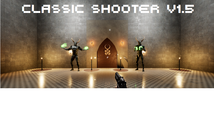 Classic shooter by cyberdei in blueprints ue4 marketplace malvernweather Image collections