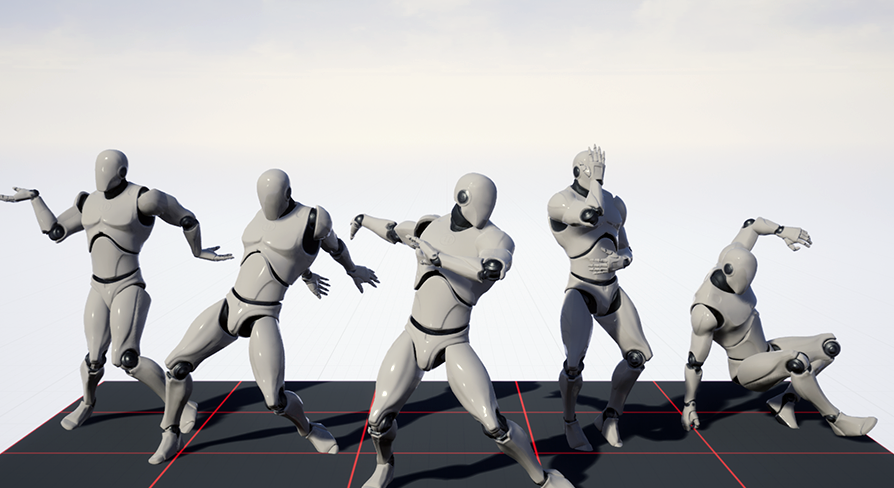 Dance MoCap 01 by Morro Motion in Animations - UE4 Marketplace