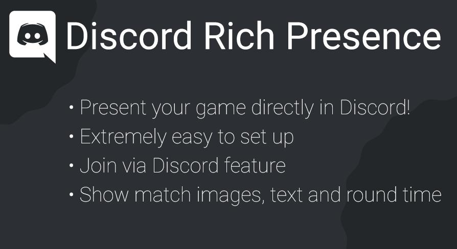 Discord Rich Presence by Jonathan Verbeek in Code Plugins