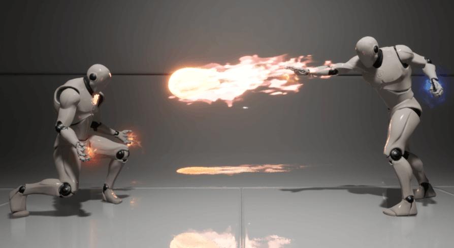 Dynamic Combat System - Magic by Grzegorz Szewczyk in Blueprints