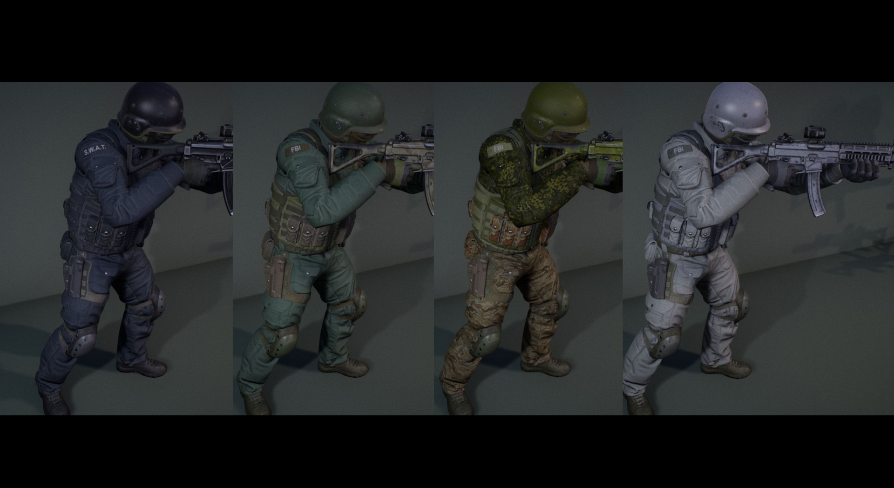 G SWAT by Alexander Ponomarev in Characters - UE4 Marketplace