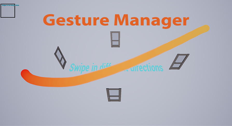 Mobile touches gesture manager by Augbrite in Blueprints