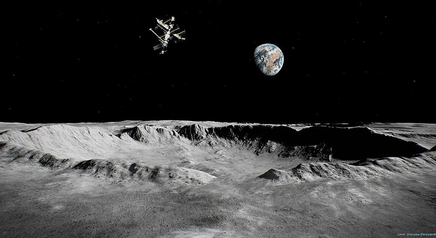 Moon Landscape
