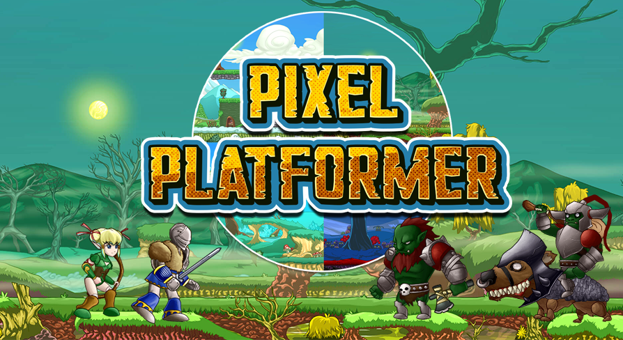 Pixel Platformer Music Pack by W O W Sound in Music - UE4 Marketplace