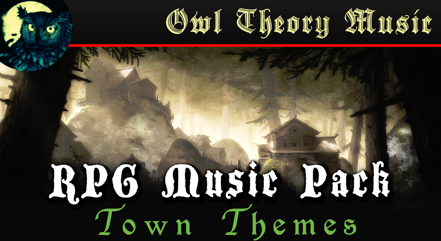 RPG Music Pack: Town Themes by Owl Theory Music in Music