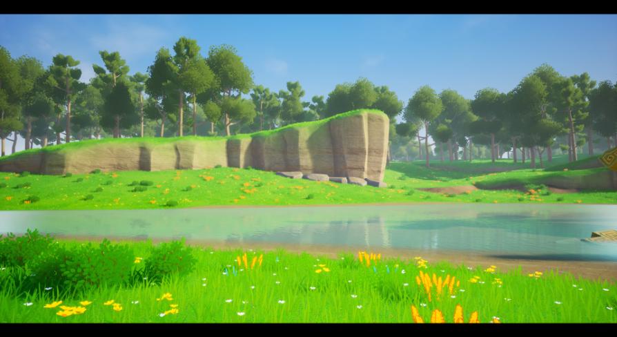 Stylized Landscape:環境 - UE マーケットプレイス