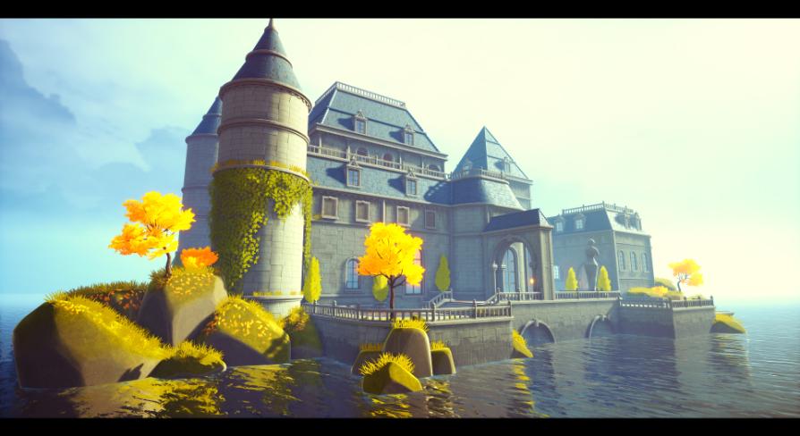 Stylized castle:環境 - UE マーケットプレイス