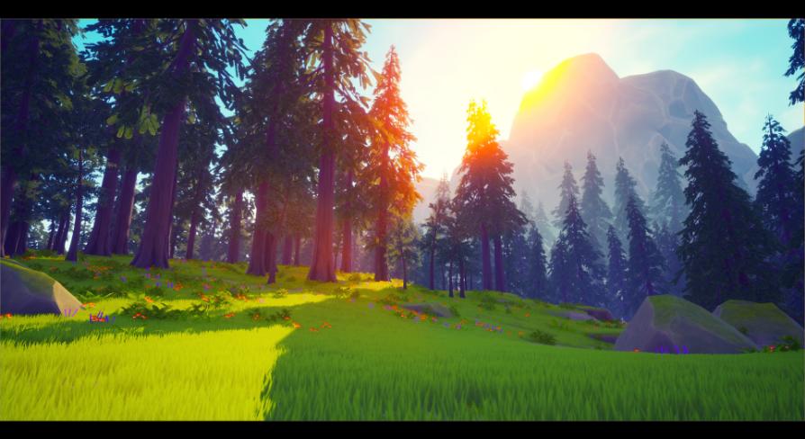 Stylized forest VOL 2:環境 - UE マーケットプレイス