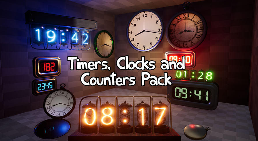 Timers clocks and counters pack by karl muller in props ue4 timers clocks and counters pack by karl muller in props ue4 marketplace malvernweather Gallery