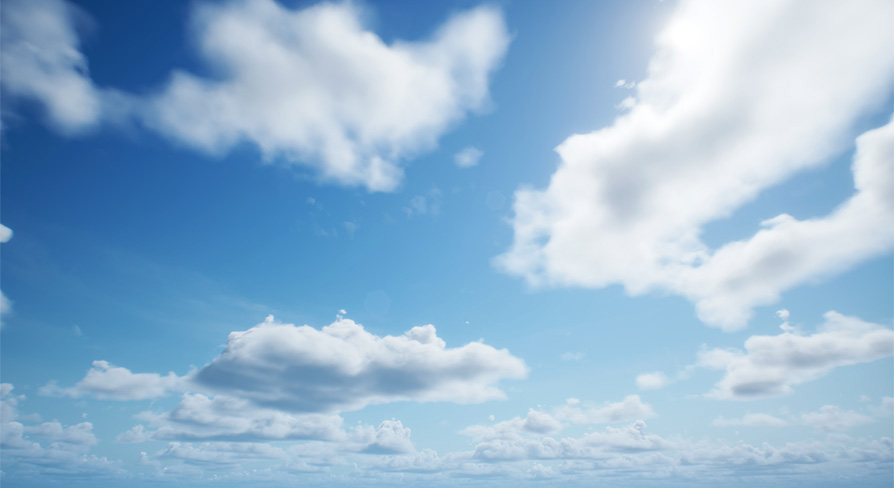 Ultra Dynamic Sky:ブループリント - UE マーケットプレイス