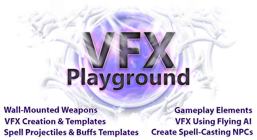 VFX Playground by Casey Fulton in Visual Effects - UE4