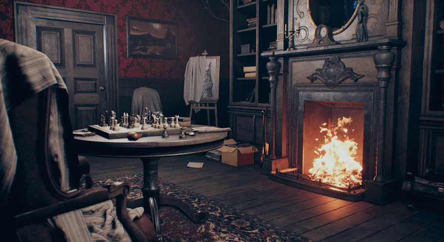 Victorian House (Only LivingRoom) By Arthur Dark In Environments   UE4  Marketplace