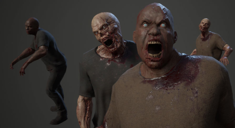 Zombies AC by Studio New Punch in Characters - UE4 Marketplace