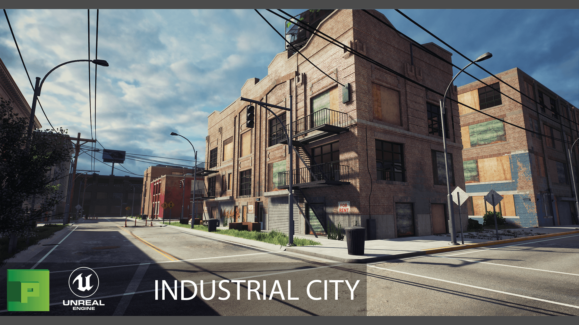 Industrial City By Polypixel In Environments Ue4 Marketplace