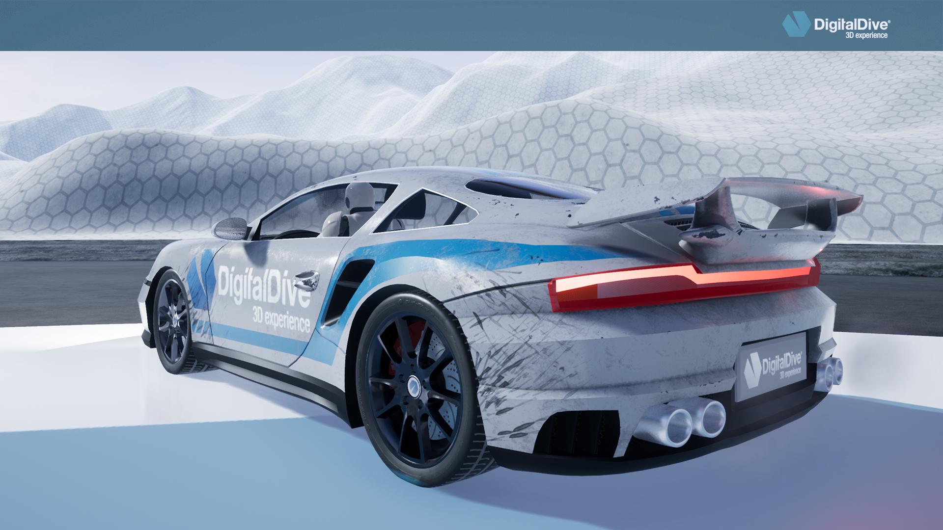Driveable Cars: Sports Car 1 (3d assets + blueprints) by Digital ...