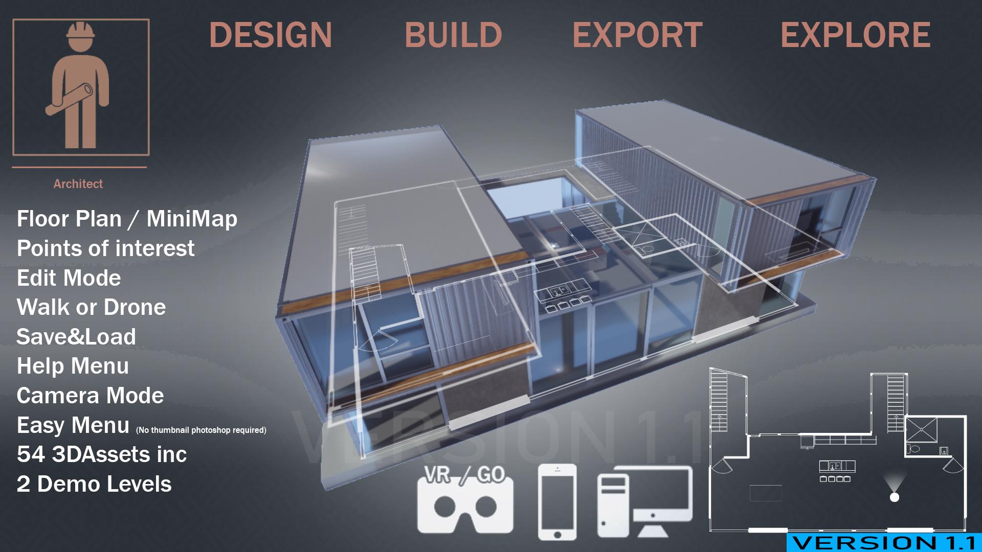 Archviz Studio by ALLPACS in Architectural Visualization - UE4