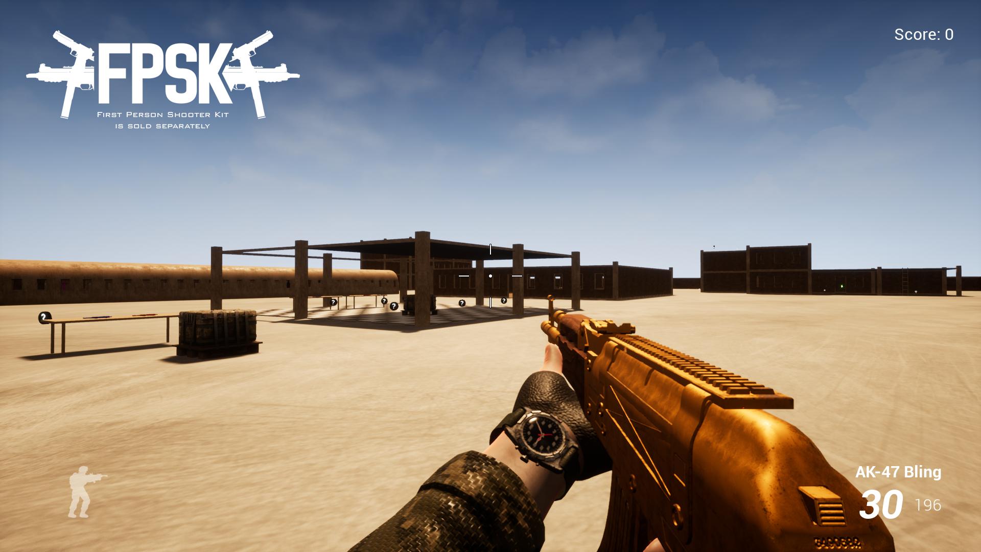 AK-47 (FPSK Ready) by Kelint in Weapons - UE4 Marketplace