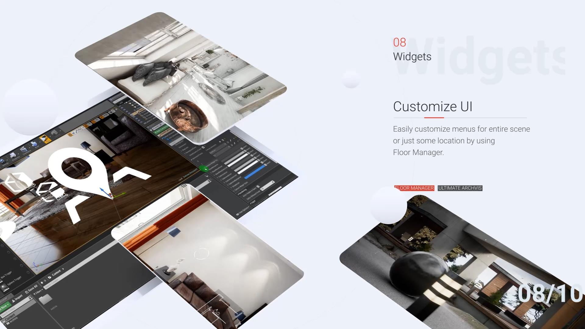 Ultimate Archvis Kit by Vahid in Blueprints - UE4 Marketplace