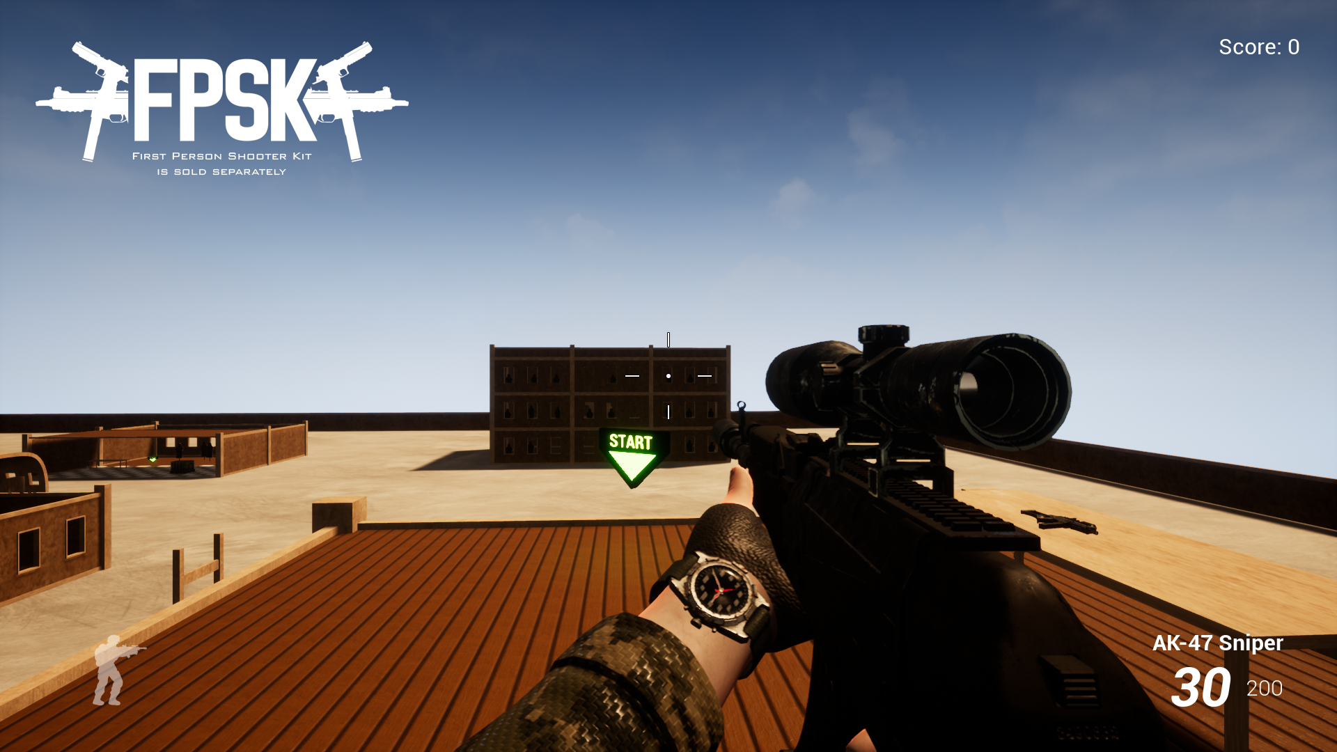 AK-47 (FPSK Ready) by Kelint in Weapons - UE4 Marketplace