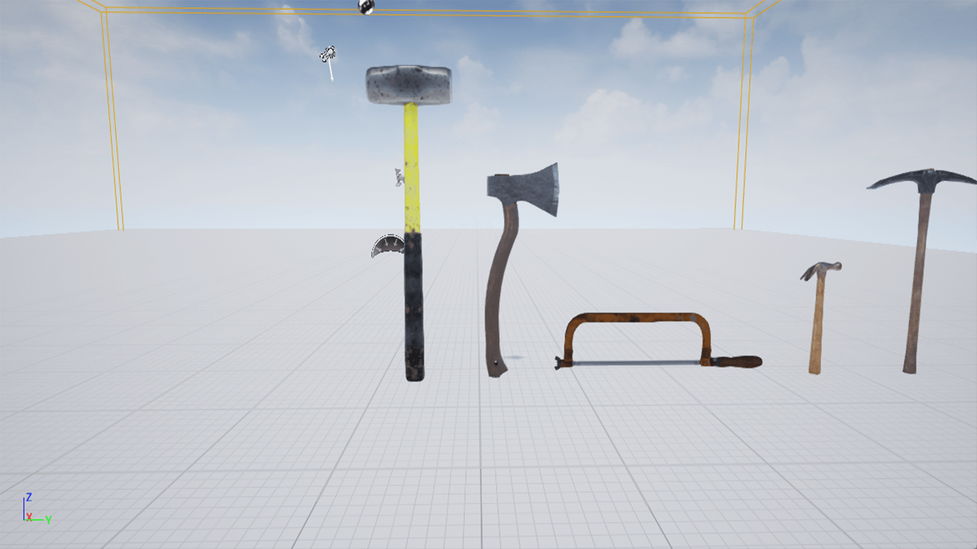 Survival Tool Pack by Enigma Studios in Props - UE4 Marketplace