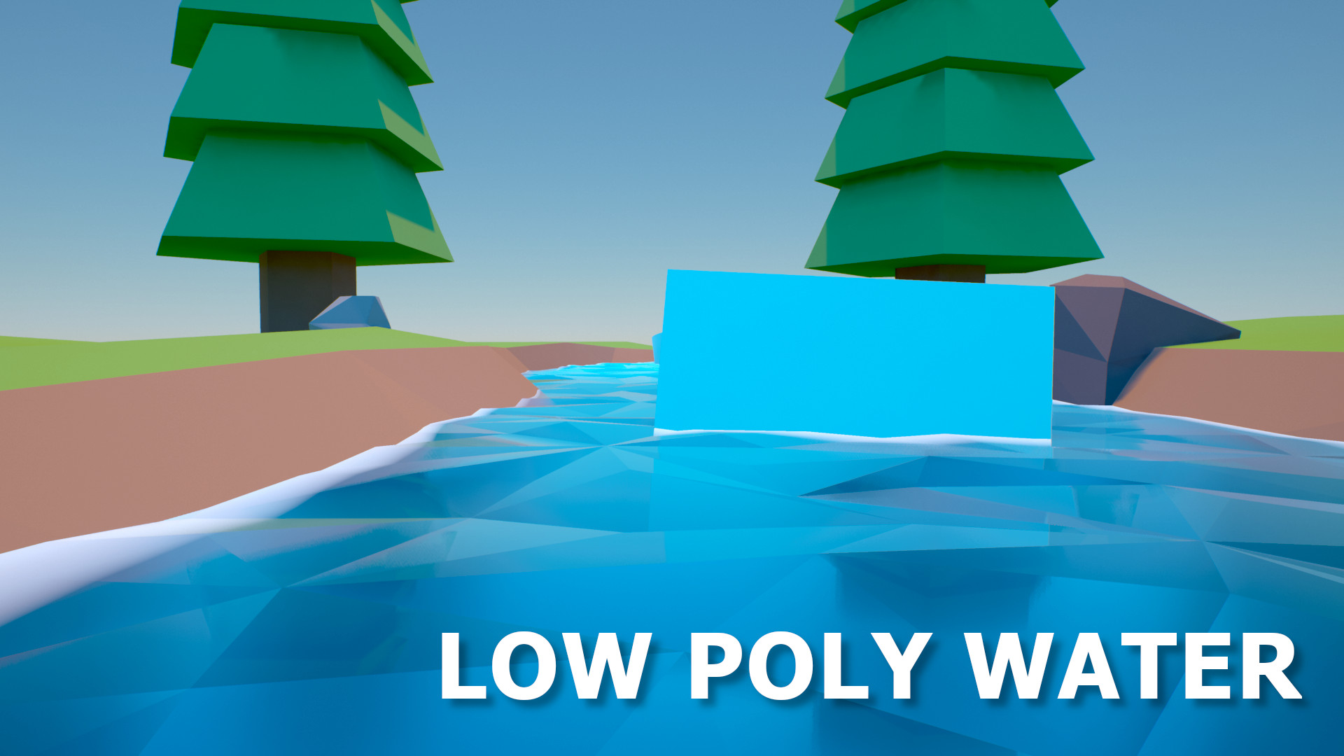 Low Poly Water Scene by Joshua Greenhough in Props - UE4