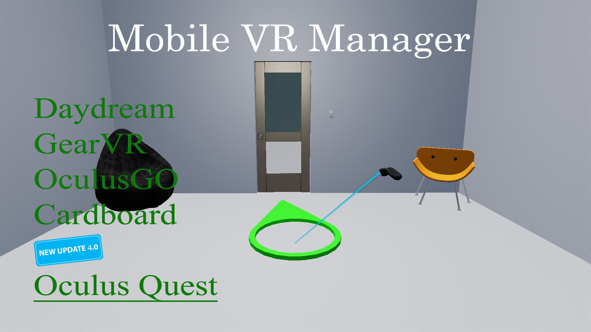Mobile VR Manager by Augbrite in Blueprints - UE4 Marketplace