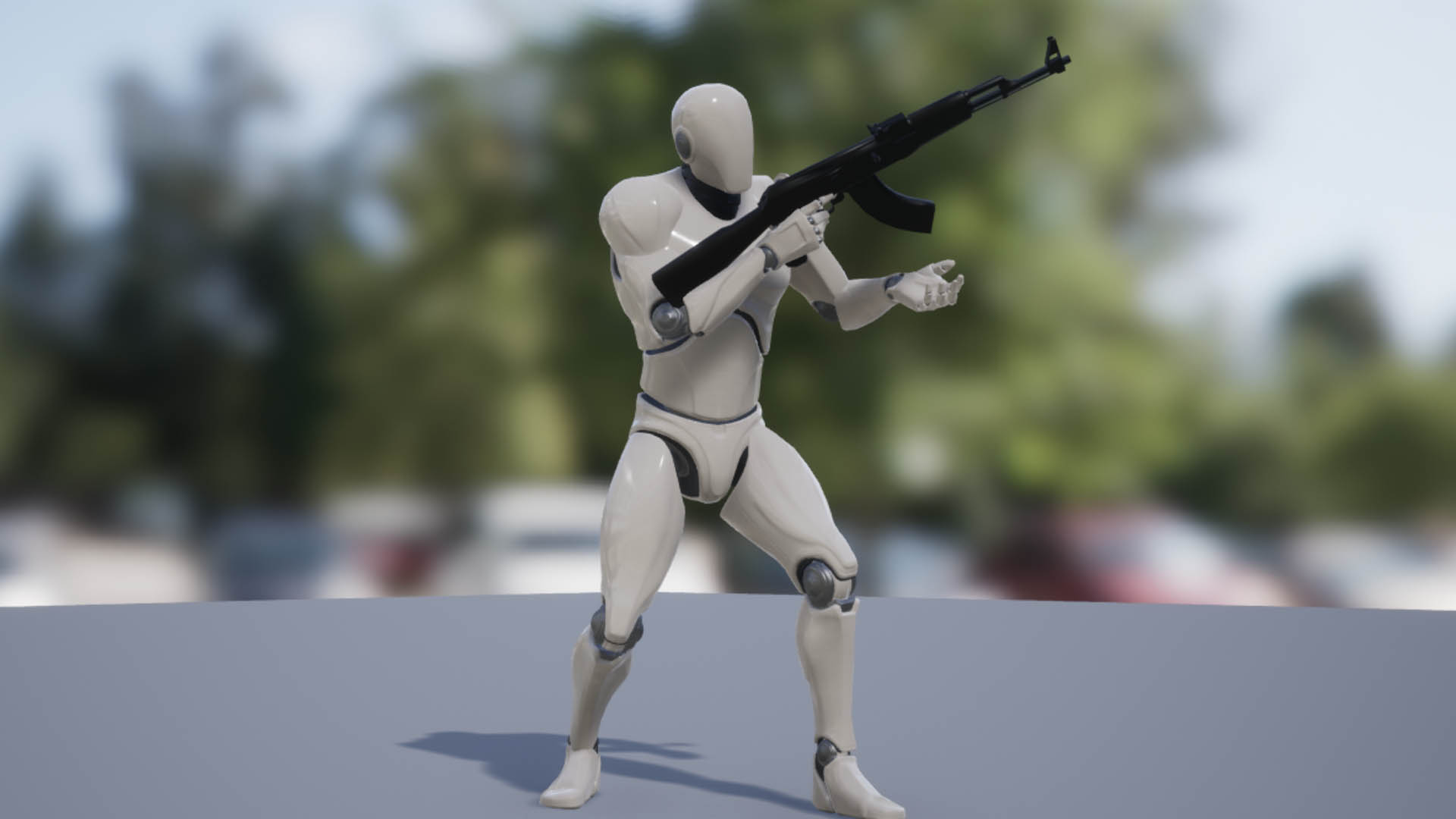 Dynamic Rifle Animset by Filmstorm in Animations - UE4
