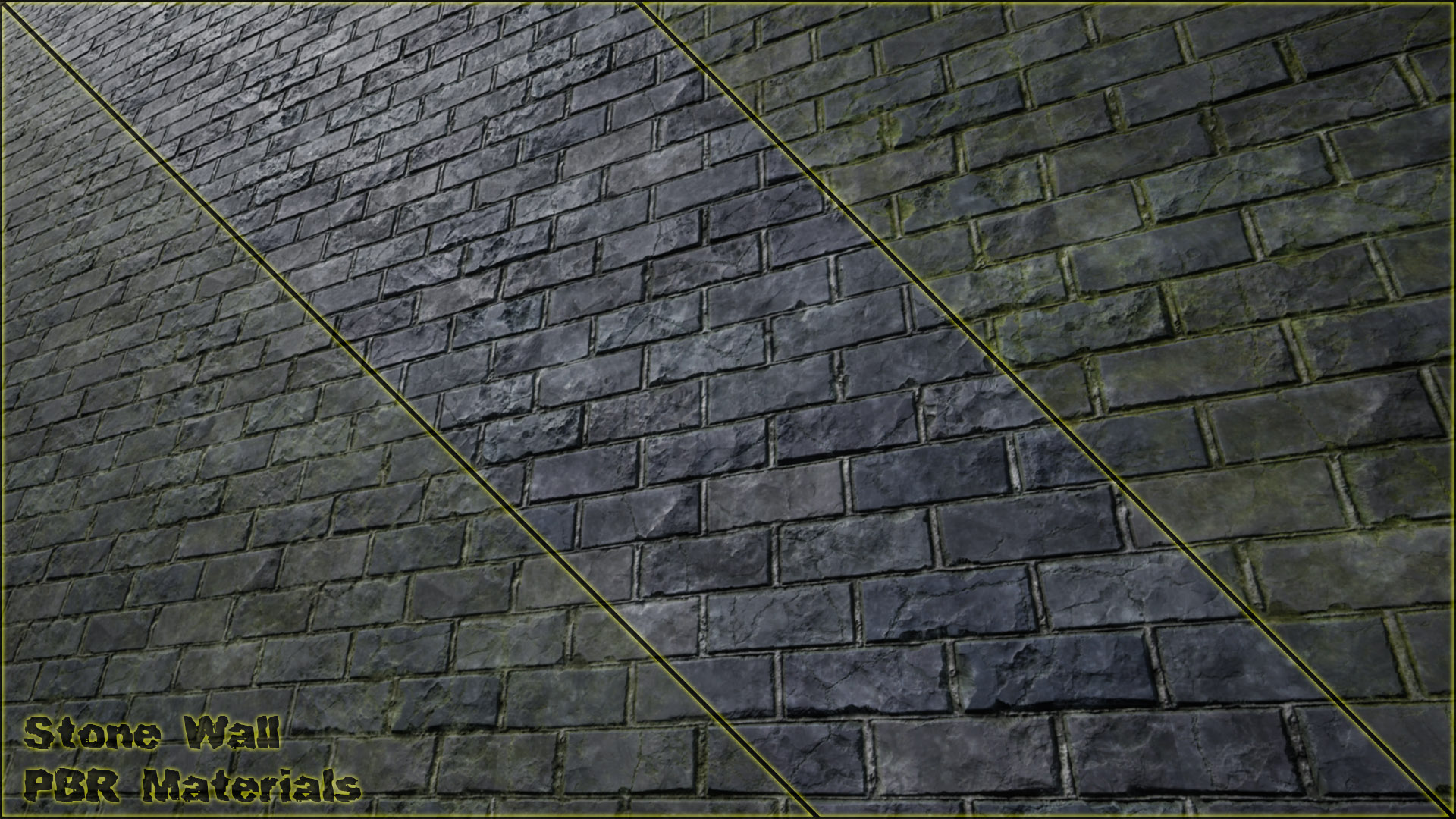 Stone Wall PBR Materials VOL 8 by Anrial in Materials - UE4 Marketplace