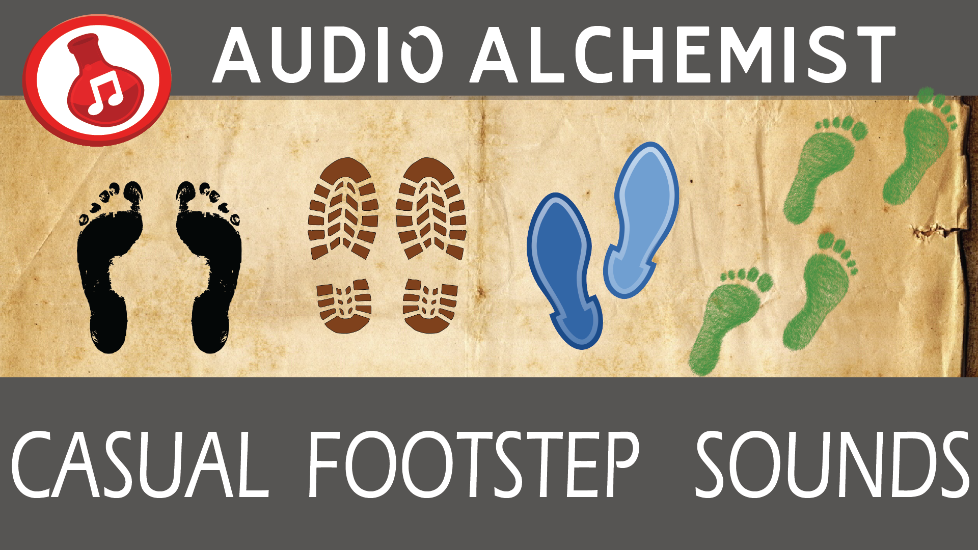 Casual Footsteps Sounds by Audio Alchemist in Sound Effects