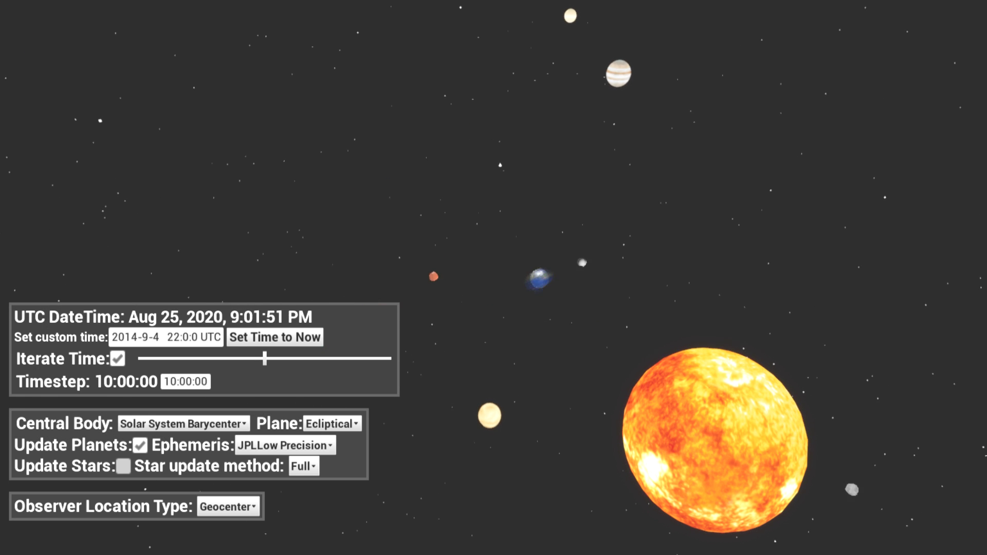 Solar System & Astronomy Plugin by Ding in Code Plugins - UE4
