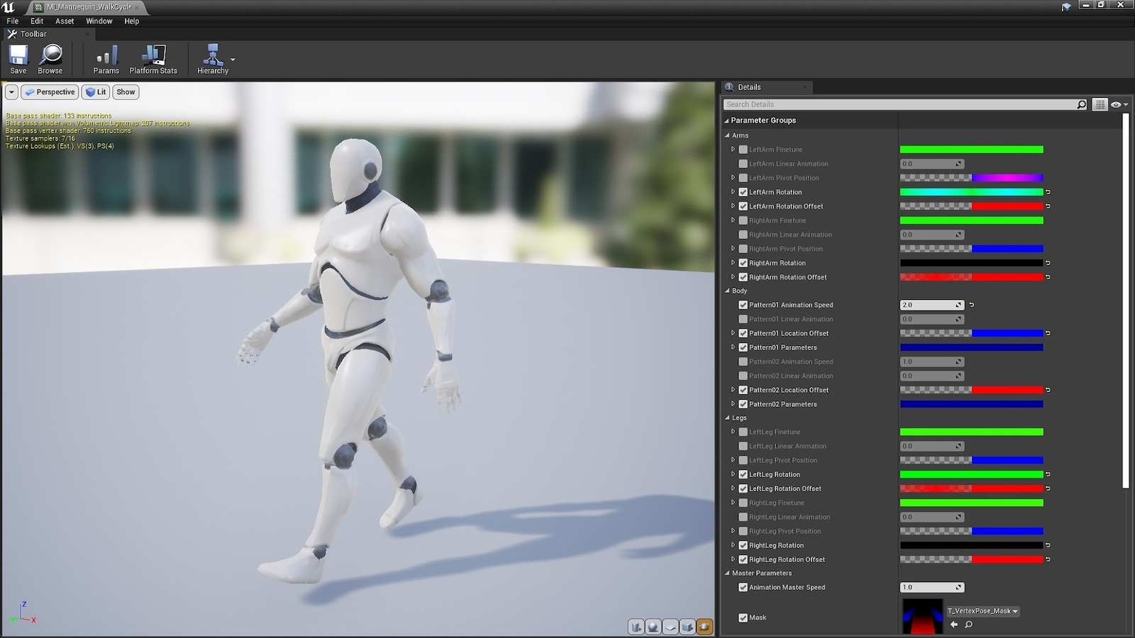 Vertex Poser And Animator In Materials Ue Marketplace