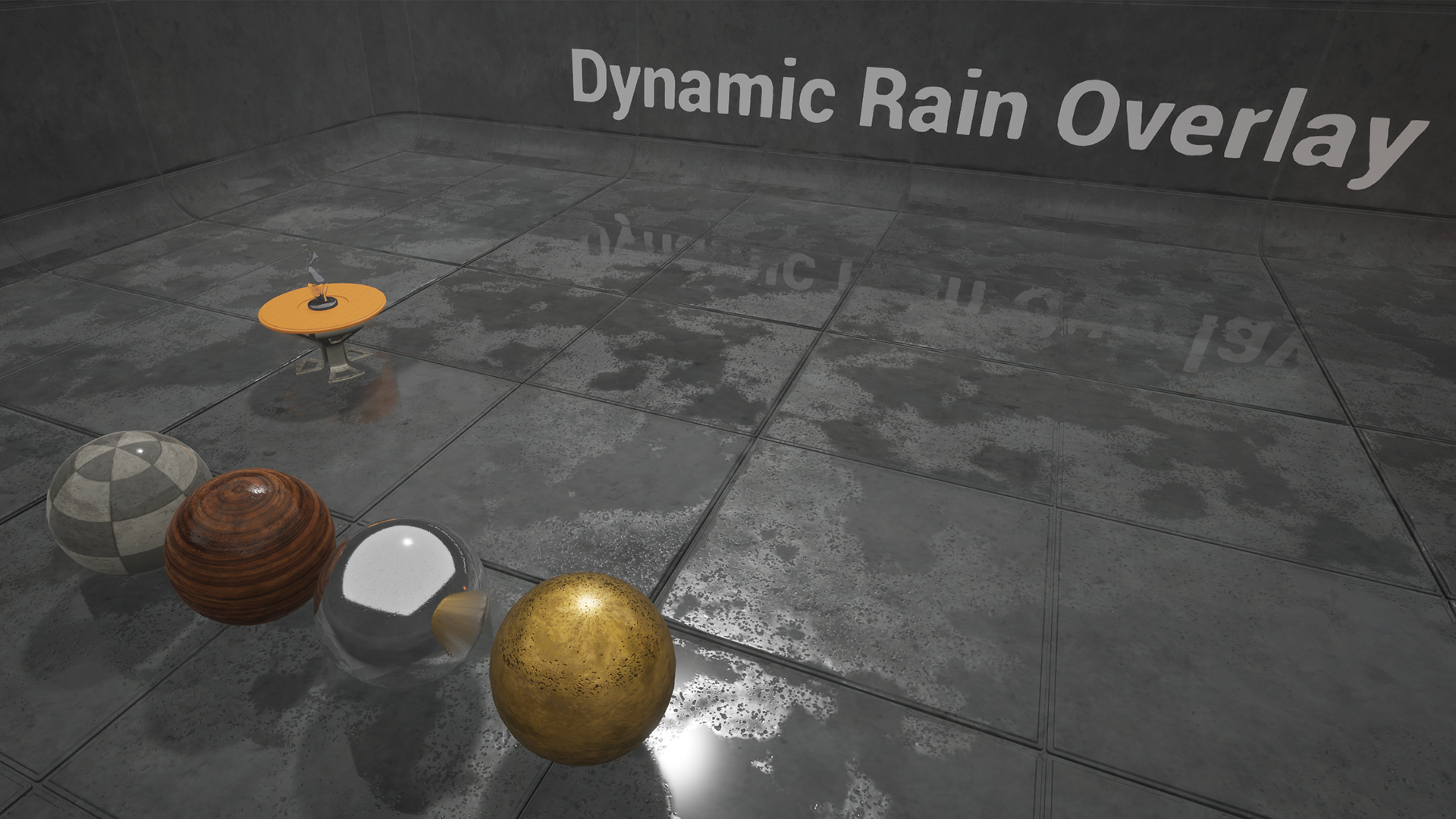 Dynamic Rain Overlay by Emre Switzer in Materials - UE4