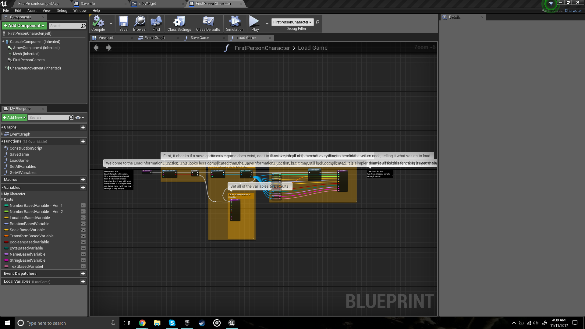Simple game save system by milachi productions in blueprints ue4 share malvernweather Choice Image