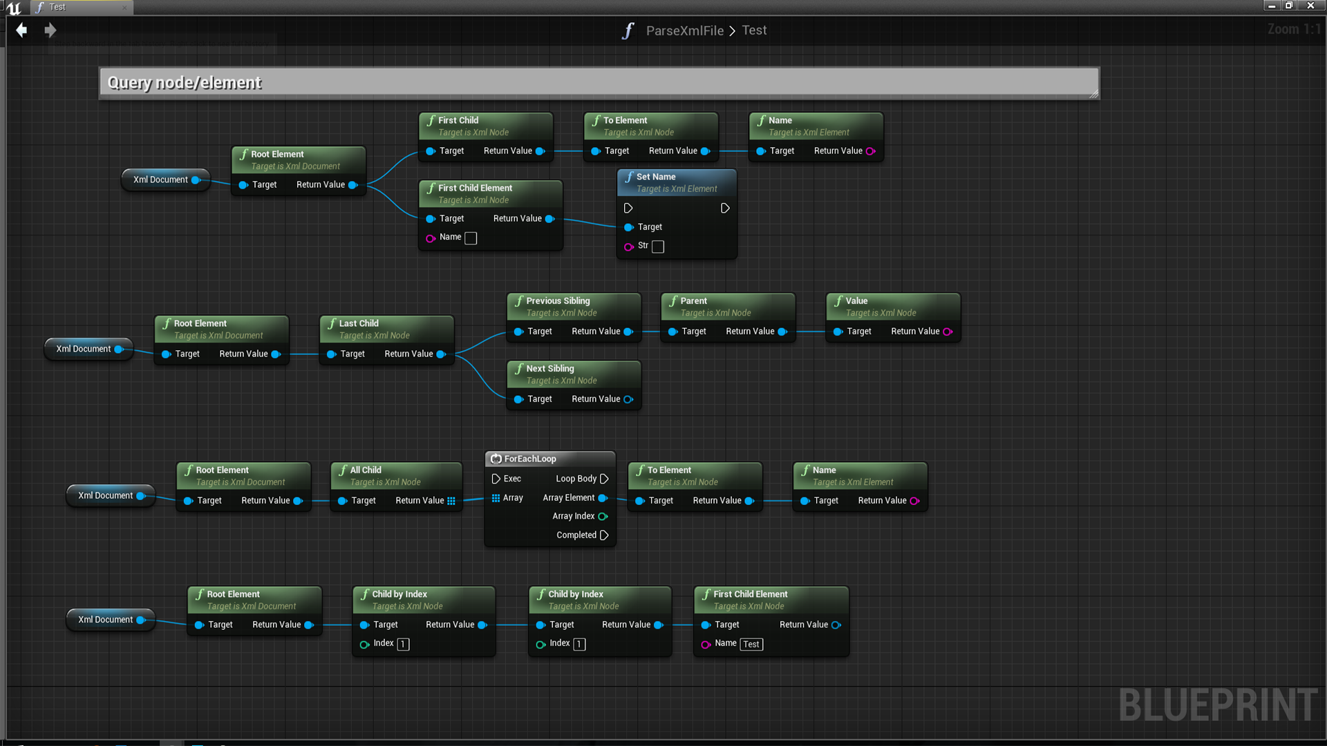Tiny xml integration by yuewu39s toolbox in code plugins ue4 share malvernweather Images