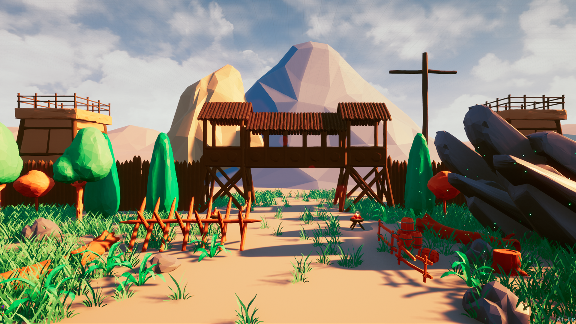 Low Poly Environment Pack by amao's store in Environments