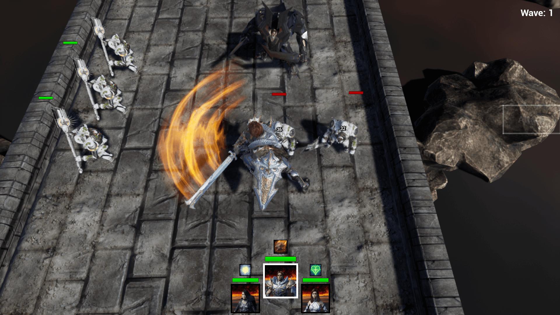 Turn-Based RPG Template by PhoenixMarket in Blueprints - UE4 Marketplace