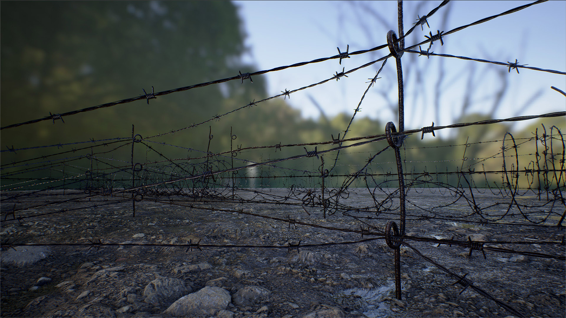 Barbed Wire Pack by Mountain Trail in Props - UE4 Marketplace